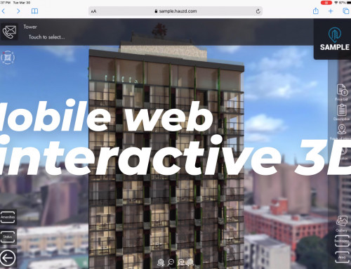 hauzd launches Mobile Web Interactive 3D to target homebuyers